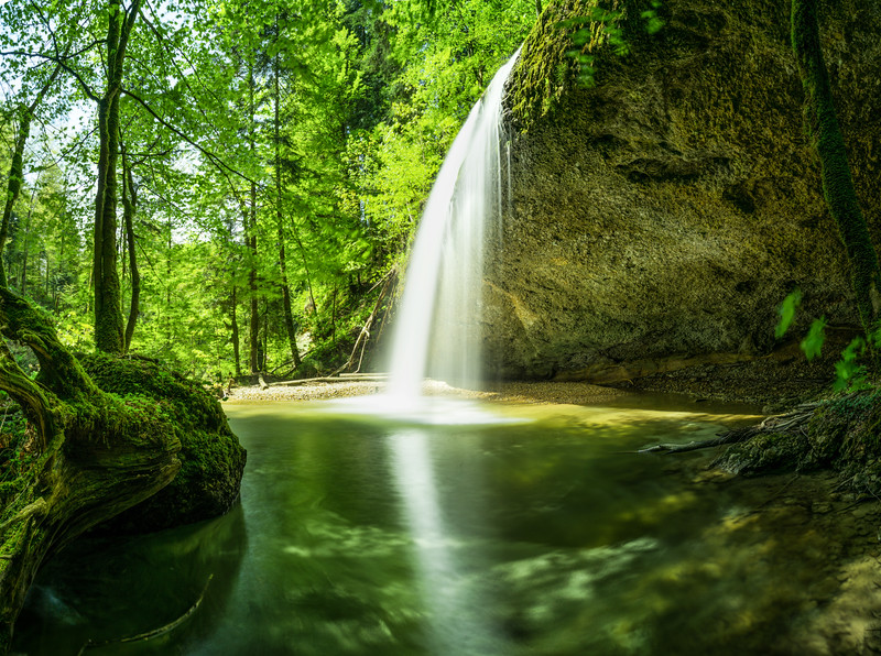 Wasserfall bei Langen II