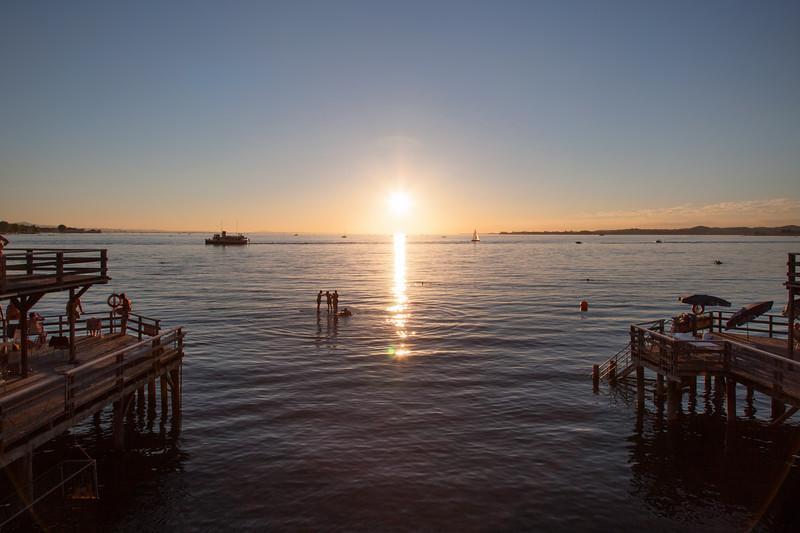Milli Sonnenuntergang im Juli
