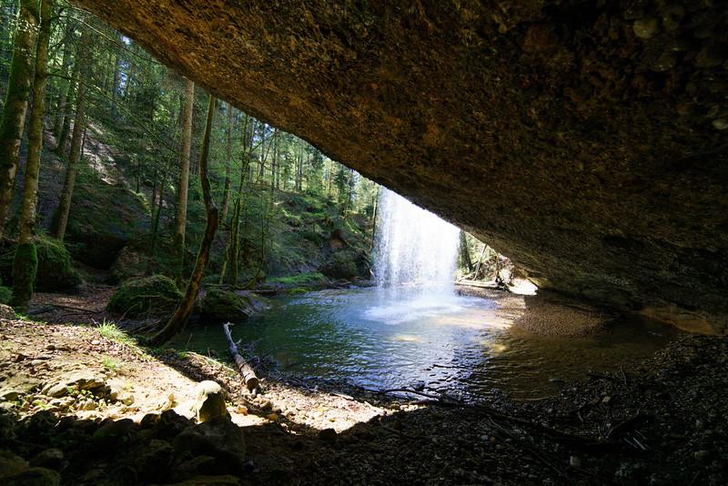 Wasserfall bei Langen