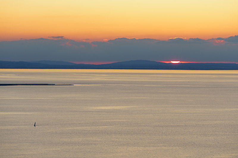 Sonnenuntergang am Eichenberg