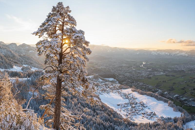 Breiter Berg mit Blick auf Emsreute