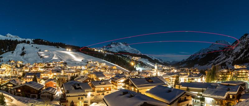 Drohnenflug über Lech