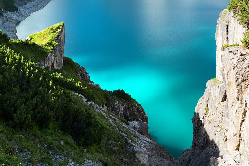 Fjordlandschaft am Lünersee
