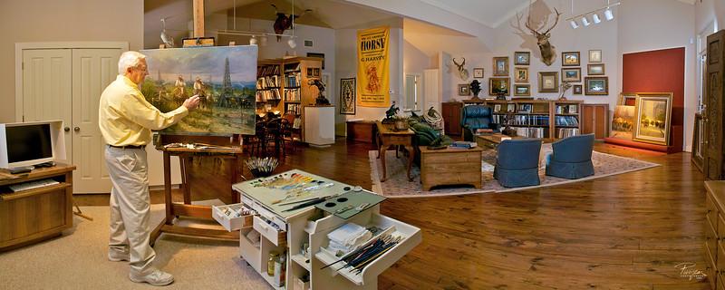 G. Harvey Panorama of Studio