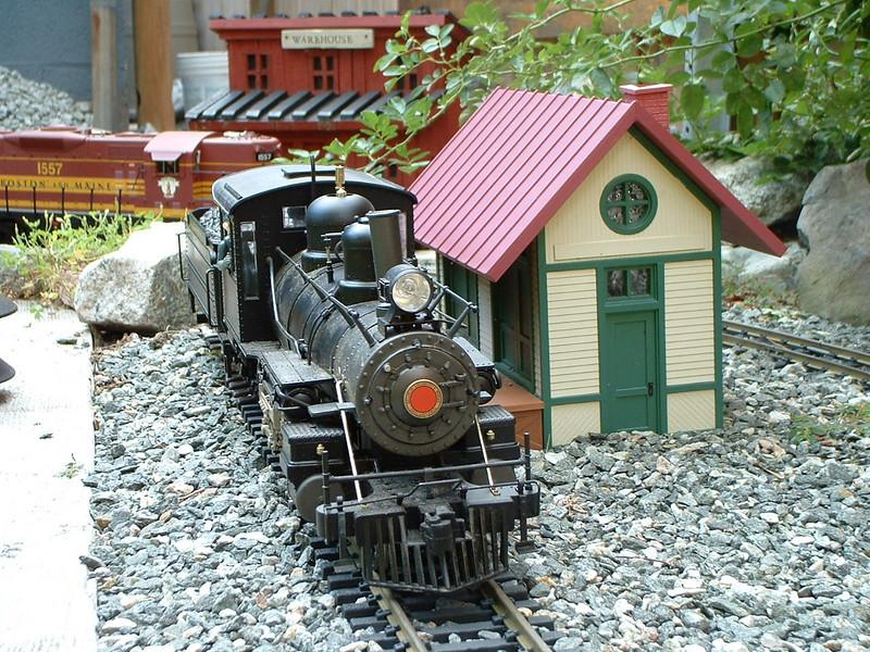Steamer 56 at Rockville Station