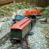 """Passing Track: Tourist Train Passes The Local On The """"Long Siding"""""""