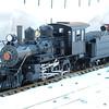 Steam engine pulls first train