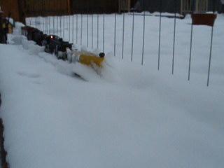 Snow On The Tracks