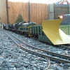 Plow Train February 07: No snow yet as of February 10th 2007
