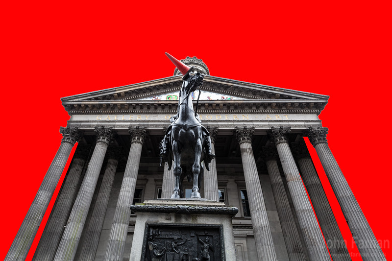 Goma pop art red