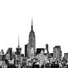 Manhattan Skyline copyright not on final image