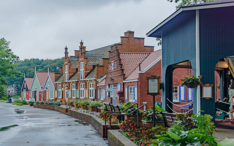 The Dutch Village at Windmill Island Gardens, MI