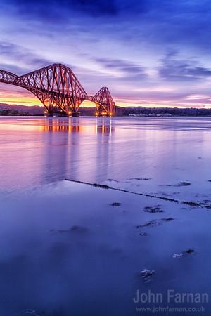 Forth Bridge at dawn