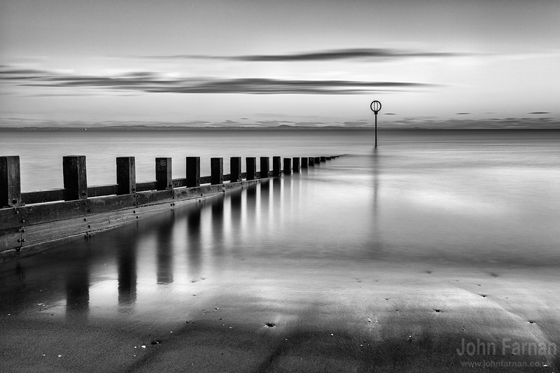 Portobello beach Edinburgh scotland