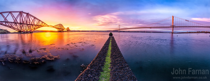 both forth bridges