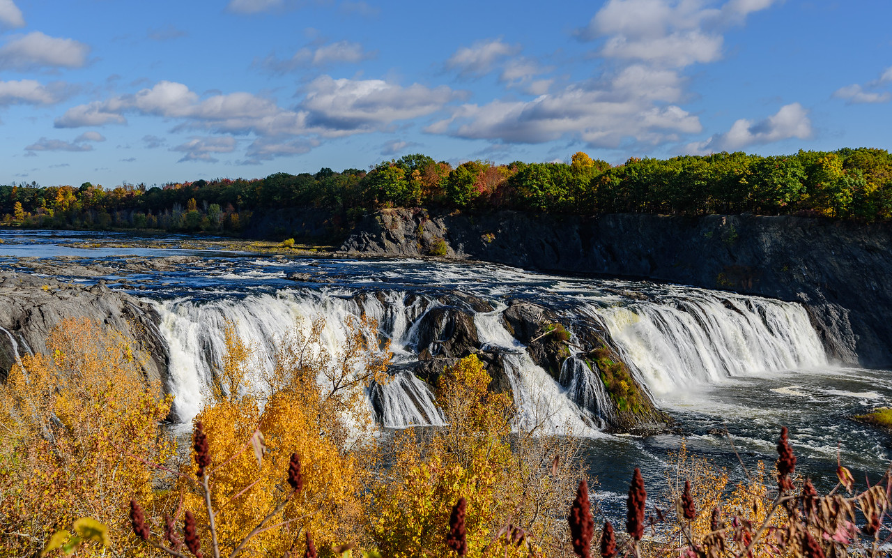 the wonderful Cohoes Waterfall-1