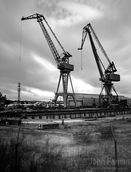 Cranes at Port Glasgow
