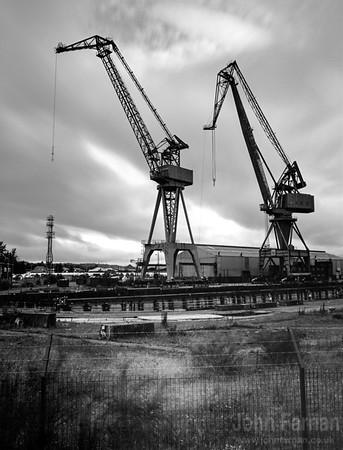 Cranes at Port Glasgow