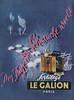 LE GALION Sortilège 1955 Austria 'Der Duft der Sehnsucht weckt'