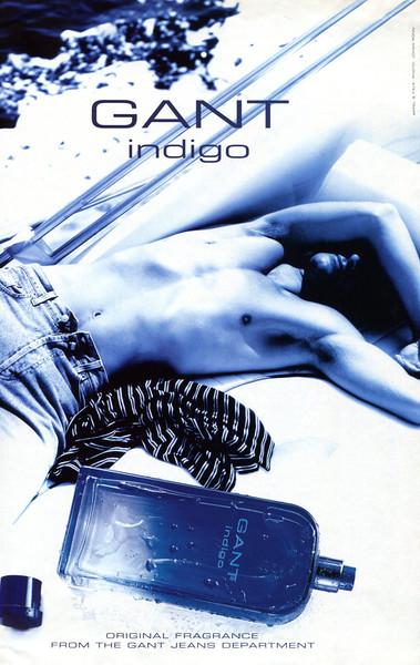 GANT Indigo 2002 Belgium 'Original fragrance from the Gant Jeans department'