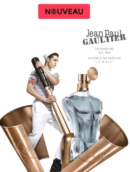 JEAN PAUL GAULTIER Le Male Essence de Parfum 2016 Frrance (Sephora stores) 'Nouveau - Jean Paul Gaultier introducing his new Essence de Parfum «Le Male»'