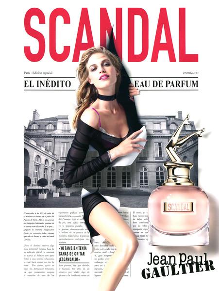 JEAN PAUL GAULTIER Scandal 2017 Spain 'El inédito Eau de Parfum'