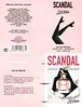 JEAN PAUL GAULTIER Scandal 2017 Spain 4-face folding card (vial sample holder) 'La nouvelle Eau de Parfum'