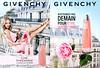 GIVENCHY Live Irrésistible 2015 France recto-verso with scent sticker 'Le nouveau parfum – N'attendez pas demain pour être irrésistible'