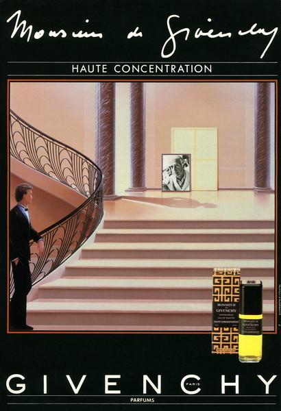 Monsieur de GIVENCHY 1985 France 'Monsieur de Givenchy - Haute concentration'