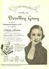 DOROTHY GRAY Diverse (gift sets) 1950 Argentine 'Para  quedar bien... confie en Dorothy Gray'
