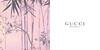 GUCCI Bamboo 2016 recto-verso blotter card 6 x 6 cm