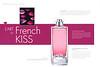 GUERLAIN Elixir Charnel French Kiss 2014 France (Parisienne magazine) 'La nouvelle Eau de Parfum - L'art du French kiss'