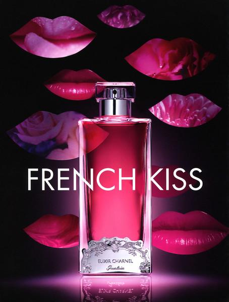 GERLAIN Elixir Charnel French Kiss 2014 France  (Parisienne magazine)