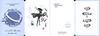 GUERLAIN La Petite Robe Noire Eau de Parfum Intense 2016 France (4-fce folding card (10 x 15 cm when folded) 'My beauty and fragrance passport'