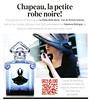 GUERLAIN La Petite Robe Noire EdP Intense 2016 Belgium small format, text in Dutch 'Chapeau, la petite robe noire!'