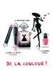 GUERLAIN La Petite Robe Noire Eau de Parfum & lipstick 2016 France (Sephora stores) 'Ma première robe - Ma robe, mon style, mon rouge - Mon vernis stylé - De la couleur!