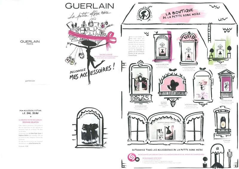 b49a6376fc6 GUERLAIN La Petite Robe Noire Diverse 2015 France (recto-verso poster)   Découvrez