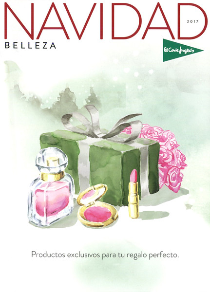 EL CORTE INGLÉS department stores Christmas campaign (Mon GUERLAIN) 2017 Spain 'Productos exclusivos para un regalo perfecto'