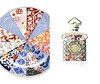 GUERLAIN Arita porcelain dish vs Mitsouko par Arita flacon 2016 France spread
