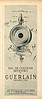 GUERLAIN Mitsouko 1961 France half page 'Eau de Cologne Mitsouko de Guerlain - Parfumeur à Paris'