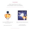GUERLAIN Shalimar Eau de Parfum & Purse Spray 2016 France (Christmas booklet) 'Shalimar meaning 'temple of love' in Sanskrit'