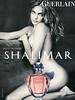 GUERLAIN Shalimar Parfum Initial 2011 France 'Mon premier Shalimar' (slogan in pink letters)