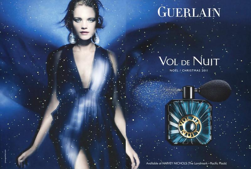 GUERLAIN Vol de Niut 2011 Hong Kong (Harvey Nichols stores) spread 'Noël - Christmas 2011'