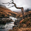 scottish landscape image<br /> Glen Etive