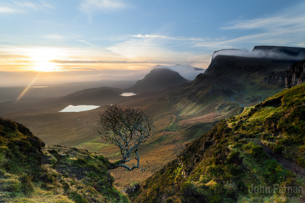 The Trotternish Ridge view