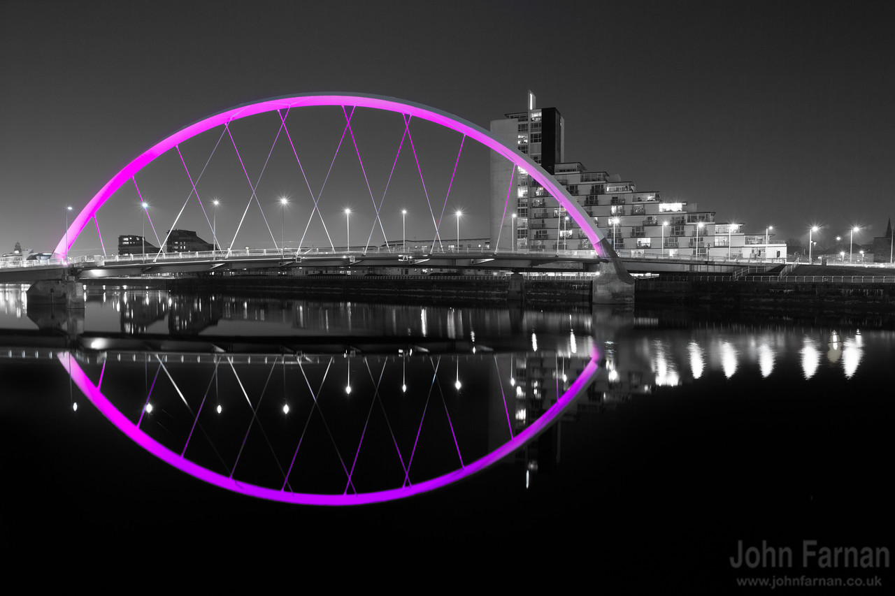 Purple colour popped squinty bridge