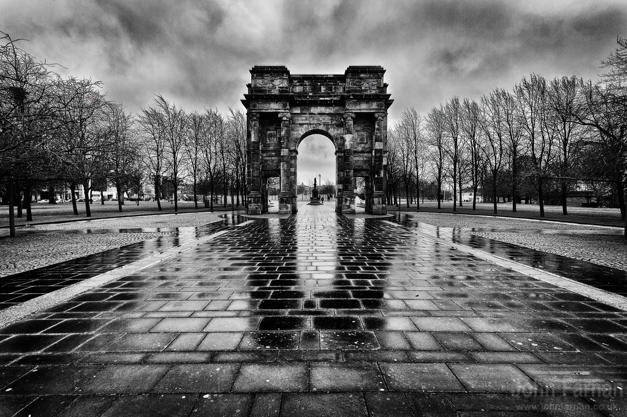 The Mclennan Arch Glasgow