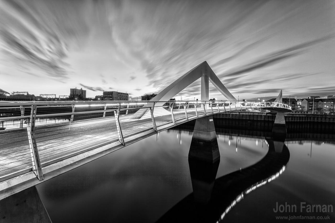 Squiggly Bridge Glasgow