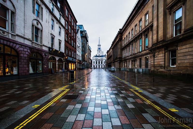 Glasgow Merchant City Street