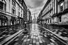 Rainy Dusk in the Merchant City